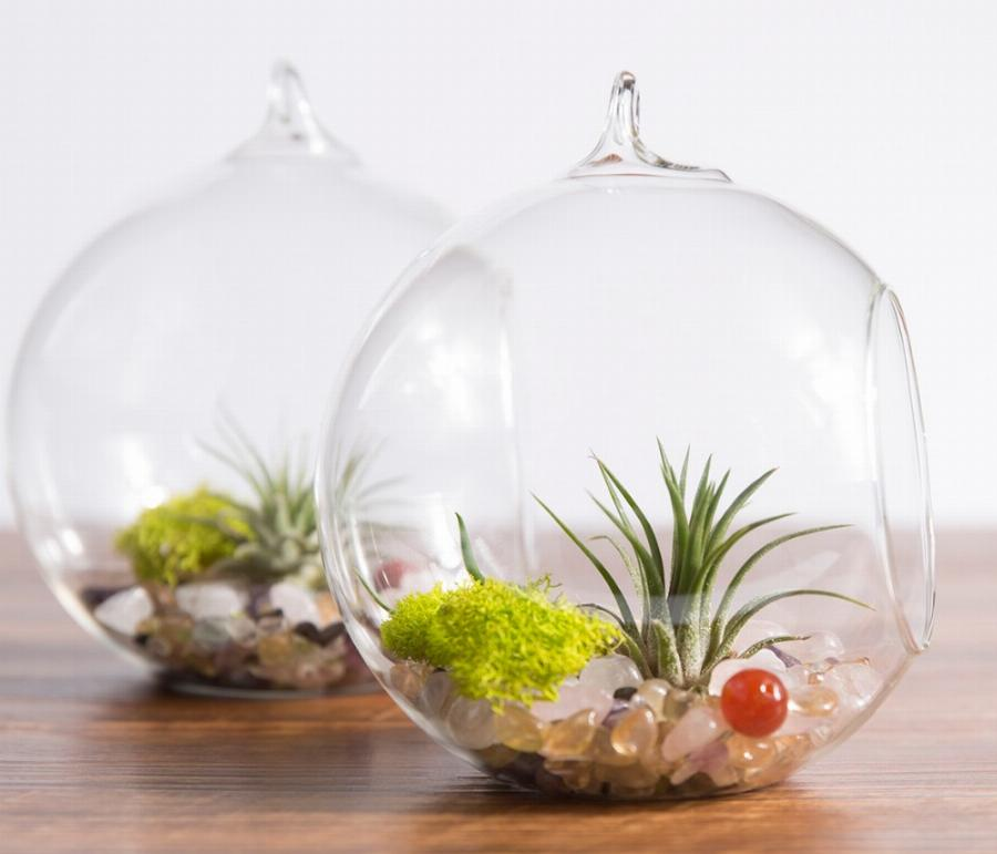 air-plant-terrarium-planter-hanging-globe-container-pot-succulent-display-vase-candle-holder-with-black-metal-stand-2-globe